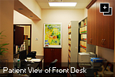 Patient View of Front Desk